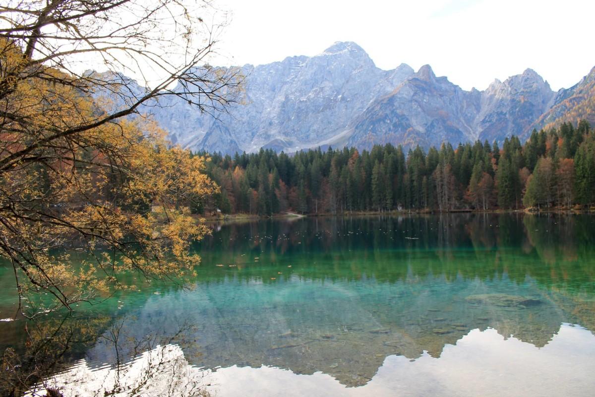 Montagna: il lago di Fusine