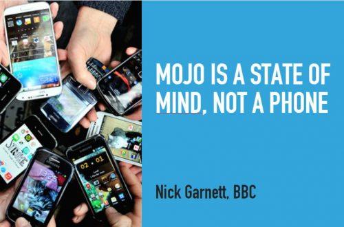 mobile journalism is dead