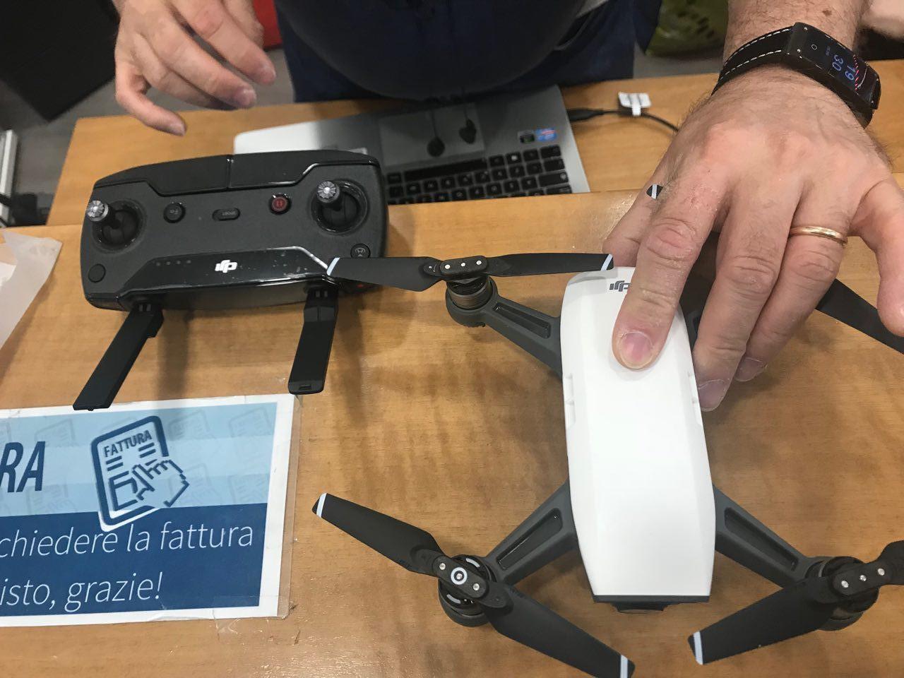 Giornalismo con i droni