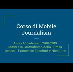 Scuole di giornalismo