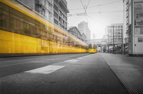 architecture asphalt blur cables